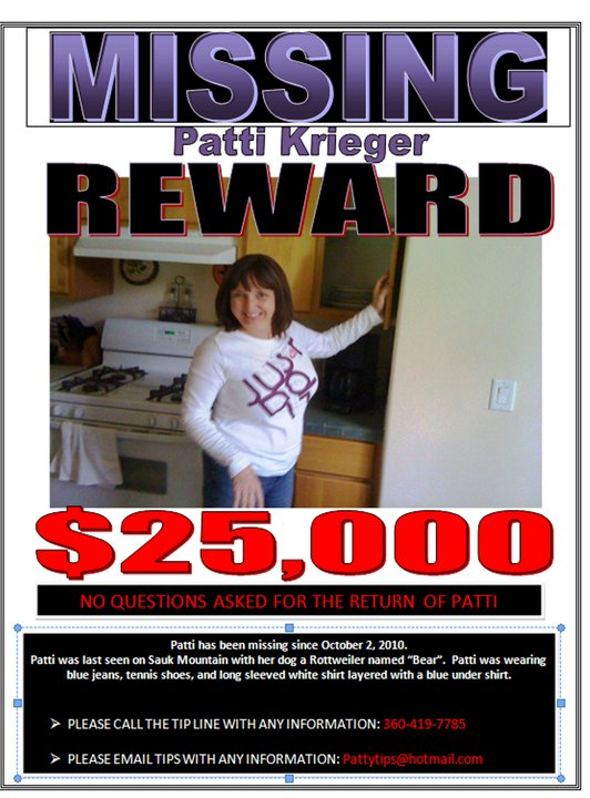 Patricia Krieger - Washington Missing Person Directory